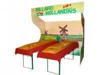 Stand forain billard hollandais