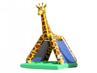 Girafe filet structure gonflable